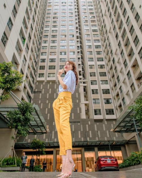Ninh Dương Lan Ngọc muốn được cao bằng tòa nhà.