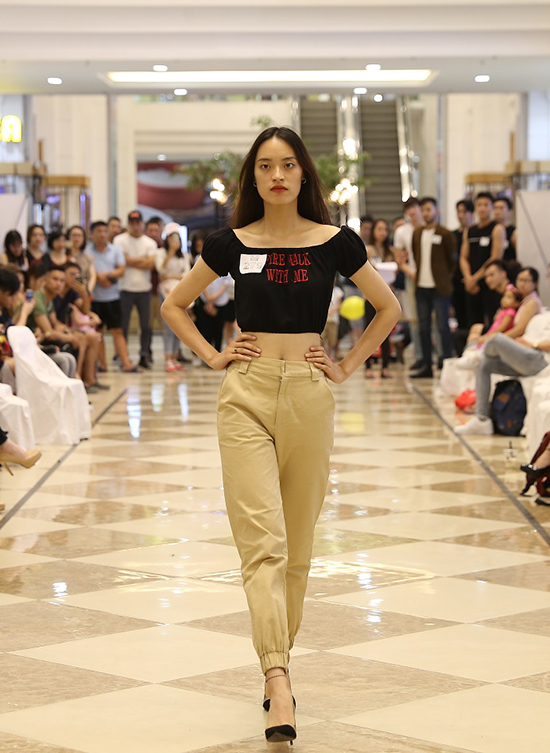 Những gương mặt xuất sắc nhất sẽ được lựa chọn để trình diễn tại Vietnam International Fashion Week Thu Đông vào thời gian sắp tới.