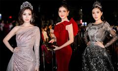 Các Hoa hậu, Á hậu đua sắc trên thảm đỏ chung kết Hoa hậu Việt Nam 2018