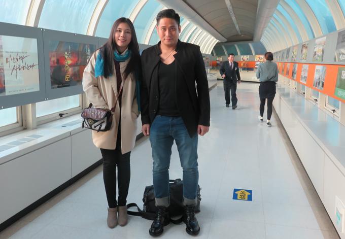 Vợ chồng Minh Tiệp - Thùy Dương được mời sang Hàn Quốc dự sự kiện Korea Best Dresser 2018.
