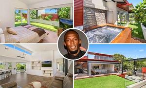 Bên trong căn penthouse Usain Bolt thuê để theo đuổi nghiệp bóng đá ở Australia