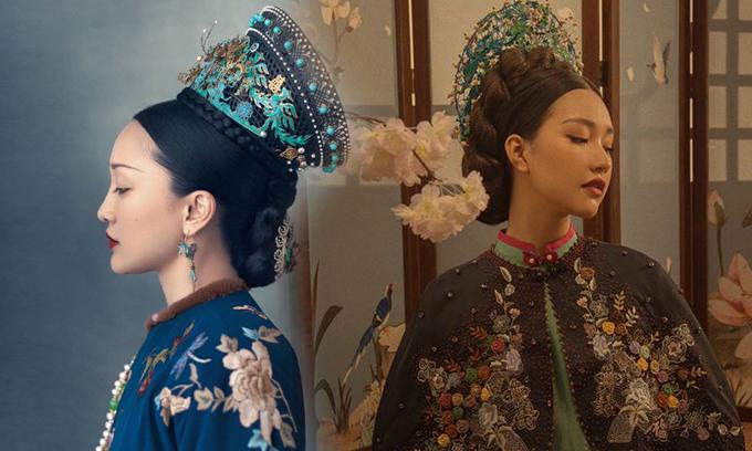 Mặc dù dành nhiều thời gian để nghiên cứu về văn hoá áo dài Việt, nhưng sản phẩm của Ngọc Trân lại