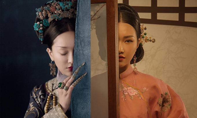 Không chỉ mang tiếng đạo nhái trang sức phụ kiện, cách tạo dáng, xây dựng bối cảnh của Ngọc Trân cũng