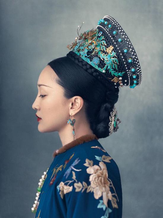 Nàng thơ xứ Huế mang tiếng cosplay phim cung đấu Trung Quốc khi quảng bá áo dài - 1