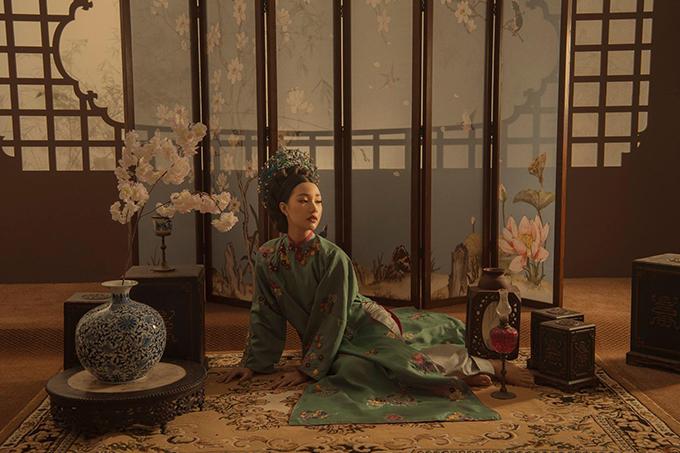 Nàng thơ xứ Huế mang tiếng cosplay phim cung đấu Trung Quốc khi quảng bá áo dài - 3