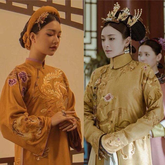 Nàng thơ xứ Huế mang tiếng cosplay phim cung đấu Trung Quốc khi quảng bá áo dài - 9