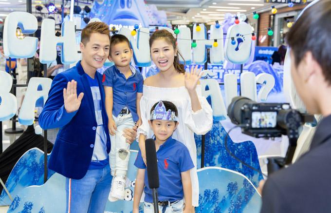 Ốc Thanh Vân đưa ba con đi chơi cuối tuần - 7