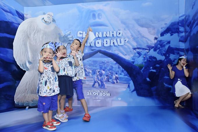 Ốc Thanh Vân đưa ba con đi chơi cuối tuần - 3