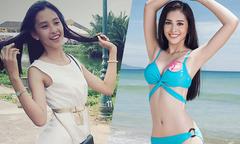 Hành trình từ cô bé khẳng khiu đến Hoa hậu VN của Tiểu Vy