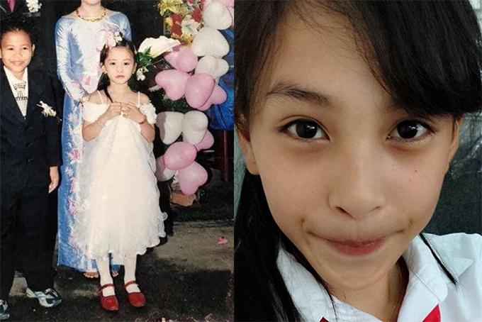 Hoa hậu Việt Nam 2018 sinh năm 2000, quê ở Quảng Nam trong một gia đình có 2 chị em và cô là con gái lớn. Điểm nổi bật nhất trên gương mặt Tiểu Vy là đôi mắt to tròn và đôi lông mày rậm.