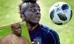 Balotelli phản ứng khi bị chê thừa cân