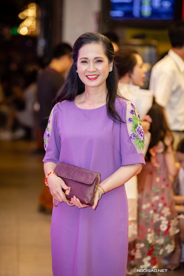NSND Lan Hương đảm nhận vai bà mẹ của An Nguy trong phim Chú ơi, đừng lấy mẹ con.