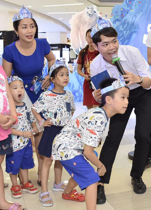 Ốc Thanh Vân đưa ba con đi chơi cuối tuần - 4