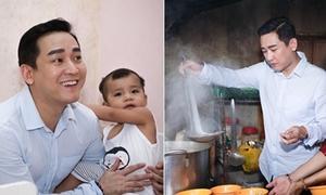 Hứa Vĩ Văn tự tay nấu ăn cho trẻ em nghèo