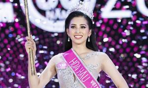 Vương miện ngọc trai của Tân Hoa hậu Việt Nam 2018