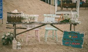 Hôn lễ rustic với chủ đề 'The moments' bên biển Bình Thuận
