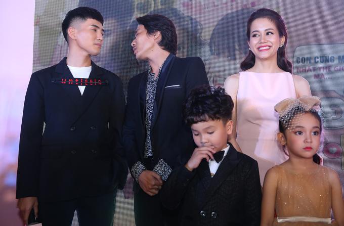 Kiều Minh Tuấn không nói chuyện riêng với An Nguy mà quay sang trò chuyện cùng Will.