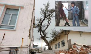 Các phim trường ở Hong Kong tan hoang vì bão Mangkhut