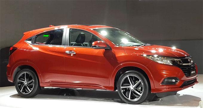 Honda HR-V ra mắt tại Việt Nam giá từ 786 triệu đồng