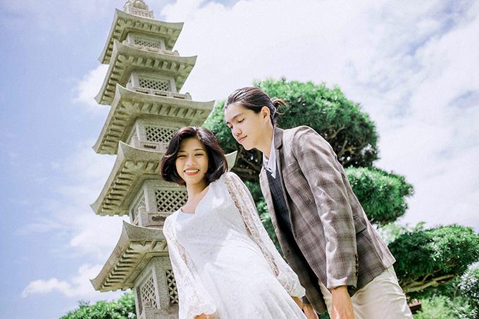 Ảnh cưới chụp ở công viên lãng mạn không kém phim ngôn tình - 5
