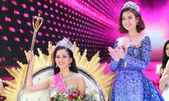 Đỗ Mỹ Linh 'không biết vì sao khóc' khi trao vương miện cho Trần Tiểu Vy