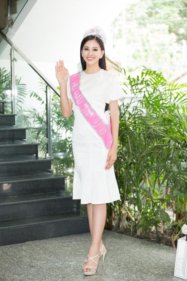 Sắp tới, Tiểu Vy sẽ đại diện Việt Nam tham gia Hoa hậu Thế giới 2018 tổ chức ở đảo Hải Nam, Trung Quốc.