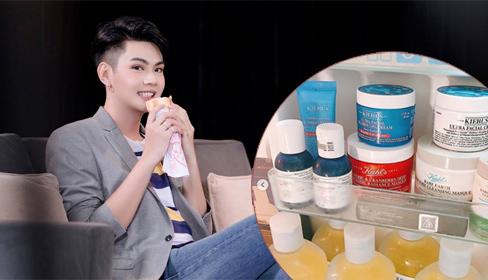 Đào Bá Lộc khoe tủ lạnh chứa toàn mặt nạ, đồ dưỡng da