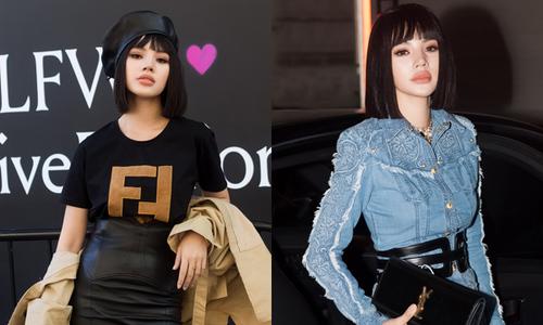 Jolie Nguyễn khoe vẻ cá tính tại London Fashion Week
