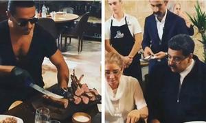 Tổng thống Venezuela ăn thịt bò thượng hạng trong lúc dân đói khổ