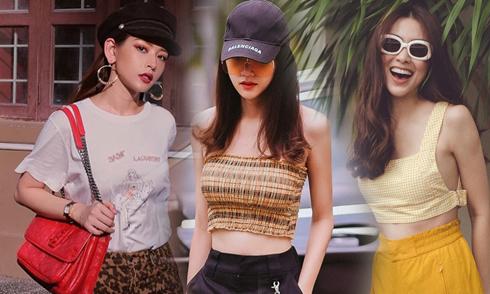 Sao Việt sành điệu với hai kiểu họa tiết hợp mốt