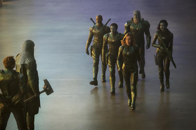 Captain Marvel được biết đến là nữ siêu anh hùng có tầm ảnh hưởng đối với biệt đội Avengers