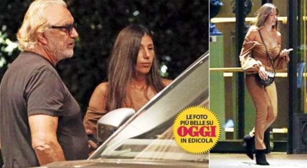 Tỷ phúFlavio Briatore có bạn gái mới ngoại hình giống vợ mới ly dị - 1