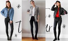Hóa quý cô hiện đại với 5 cách mix quần skinny đen