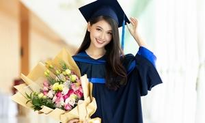 Á hậu Thùy Dung tốt nghiệp Đại học Ngoại thương