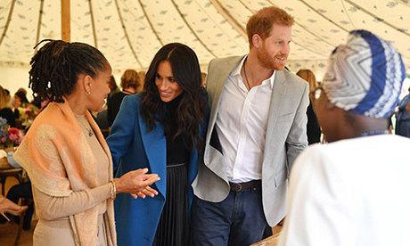 Meghan lần đầu đưa mẹ đẻ tham dự sự kiện hoàng gia