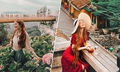 Chuyến hồi hương đẹp như mơ của 'công chúa tóc mây' gốc Việt