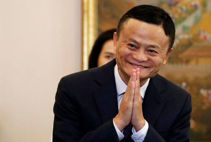 Tỷ phú Alibaba nổi tiếng phát ngôn màu mè nhưng thấm. Ảnh: AFP.