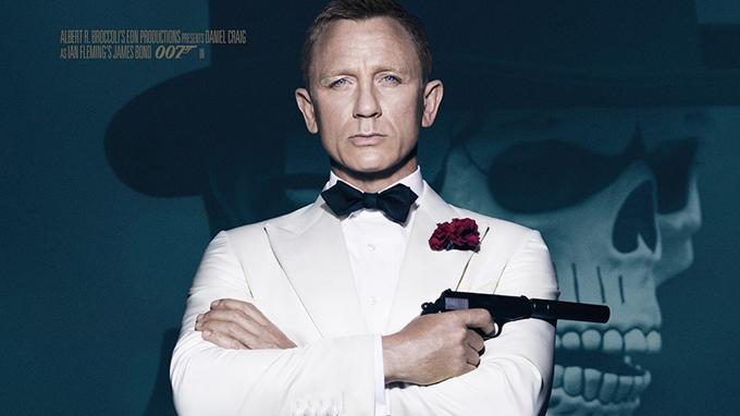 Daniel Craig trong tạo hình James Bond của phim Spectre trình chiếu năm 2015. Ảnh: IMDb
