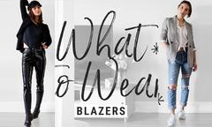 Phối blazer hiện đại, không đóng khung quen thuộc