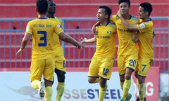 Tuyệt phẩm sút phạt của ngoại binh SLNA đẹp nhất vòng 23 V-League