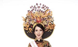 Thúy Vi đoạt giải trang phục truyền thống tại Miss Asia Pacific International