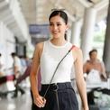 Hoa hậu Trần Tiểu Vy về thăm quê sau gần một tuần đăng quang