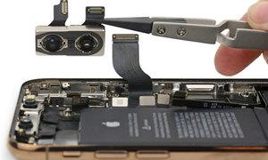 'Mổ bụng' iPhone XS và XS Max