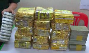 Lô ma túy 'khủng' bị chặn ở biên giới
