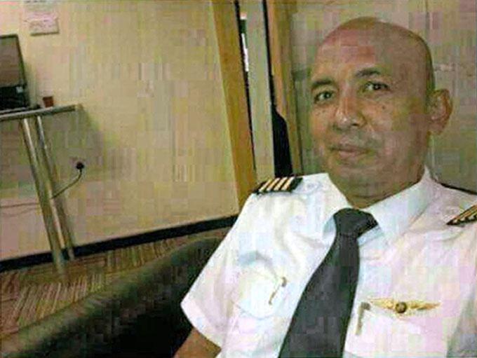 Zaharie Ahmad Shah - cơ trưởng chuyến bay MH370 - mất tích vào tháng 3/2014 khi chở 238 hành khách và phi hành đoàn. Ảnh: Enterprise News and Pictures.