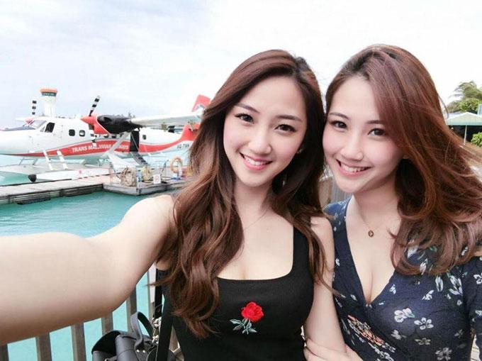 Hai chị em sinh đôi Lan Qi Hui và Qi Min Lan - người Zaharie bị ám ảnh. Ảnh: Facebook.