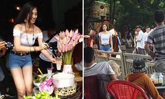 Fan chia sẻ khoảnh khắc đời thường của hoa hậu Tiểu Vy