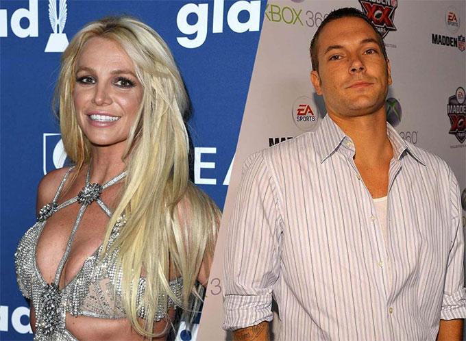 Britney và chồng cũ, Kevin Federline.