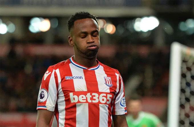 Saido Berahino từng trải qua thời gian dài tịt ngòi ở Stoke City. Ảnh: TS.