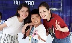 Chi Pu hát nhảy vui Trung thu cùng trẻ em khuyết tật ở Tây Ninh